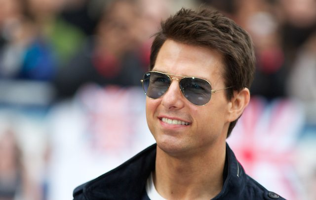 American actor Tom Cruise arrives for th