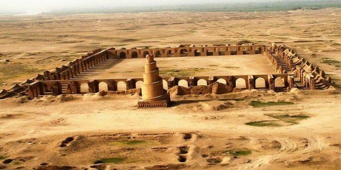 جامع سامراء الذي بناه المتوكل العباسي