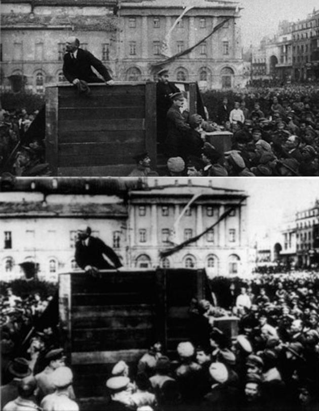 ستالين وتروتسكي