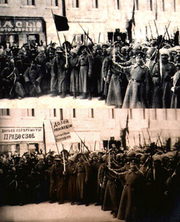 ستالين وتزوير صور المتظاهرين
