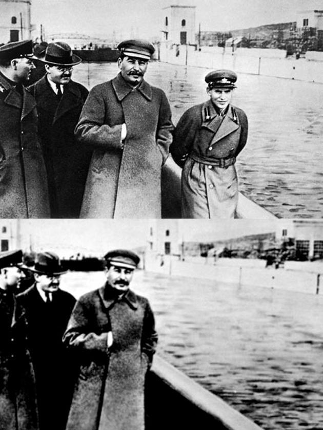ستالين ونيكولاي يزوف