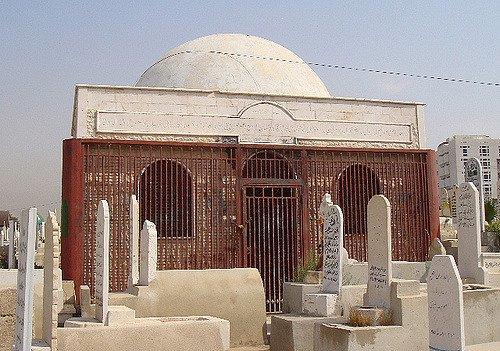 قبر معاوية بن أبي سفيان