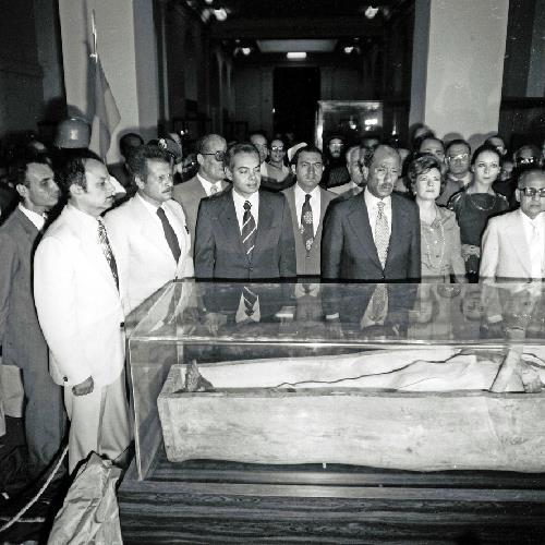 السادات ومومياء رمسيس