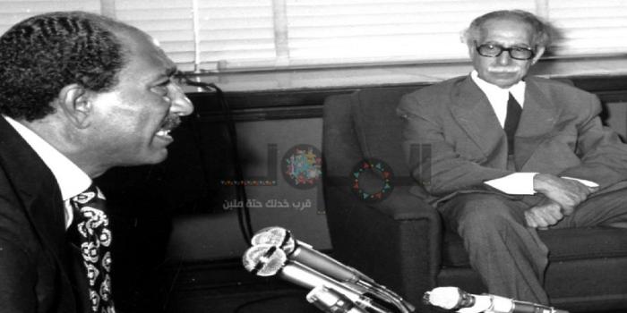 """أزمة توفيق الحكيم والسادات.. إحراج الرئاسة بـ""""جواب"""""""