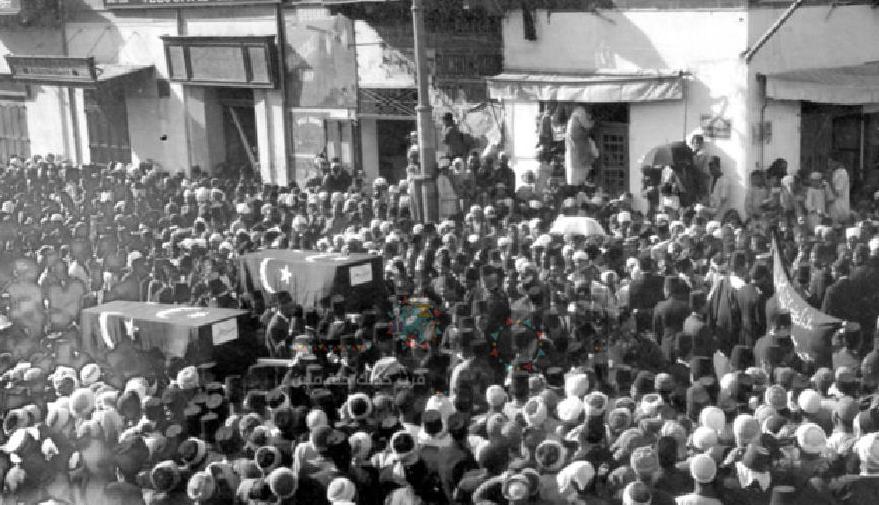 جنازة شهيدين من ثورة 1919 م