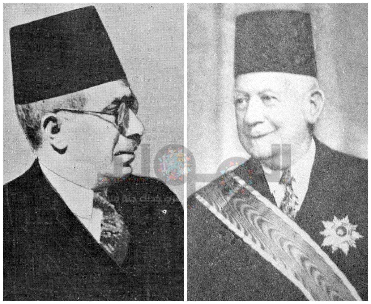 عبدالرحمن الرافعي - محمد حسين هيكل
