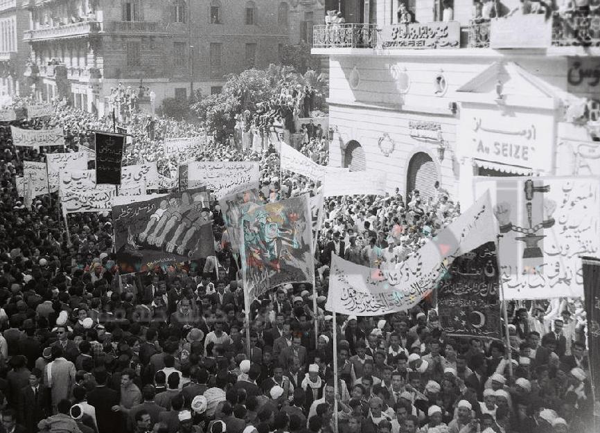 مظاهرات مصرية في ذكرى حادثة كوبري عباس