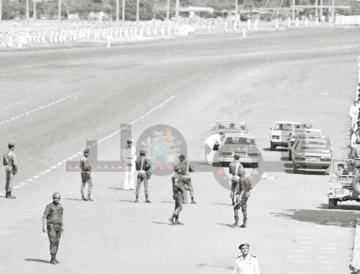 منطقة رابعة من جهة المنصة في الستينيات